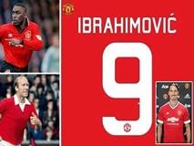 """Ibrahimovic uy quyền """"cướp"""" áo số 9 của Martial"""