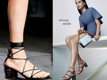 Giày/sandals đế vừa thô vừa thấp, phải sắm ngay