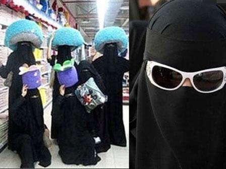 Đây là những bức ảnh tập thể và ảnh ngoại cảnh của phụ nữ Trung Đông