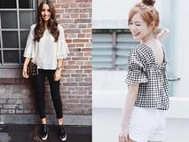 4 kiểu áo khiến mỡ bụng 'tàng hình'