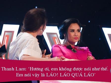 """Cuộc chiến """"nảy lửa"""" X-Factor: Thanh Lam chỉ mặt Hồ Quỳnh Hương """"LÁO"""""""
