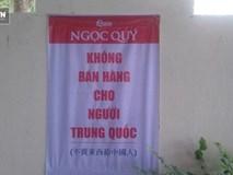 Nhà hàng Đà Nẵng treo bảng 'không bán hàng cho người Trung Quốc'