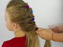 3 kiểu tóc tết cực yêu siêu đơn giản cho bé gái