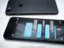 Ngỡ ngàng iPhone 7 sẽ có màu đen tuyền?