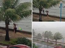 Cặp đôi bất chấp tất cả để làm việc không thể ngờ trong cơn bão