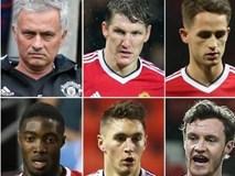 HLV Mourinho đối xử phũ phàng với 9 ngôi sao M.U