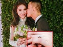 'Hoa hậu nói Tiếng Anh dở' Thu Vũ được trao nhẫn đính hôn tiền tỉ trong đám hỏi