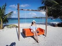 Theo chân Á hậu Tú Anh khám phá vẻ đẹp thiên đường của Maldives