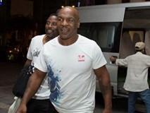 Mike Tyson đã có mặt ở TP HCM đóng phim cùng Trần Bảo Sơn