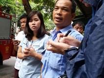 Clip nhân chứng bàng hoàng kể lại vụ sập cửa hàng 3 tầng lúc rạng sáng ở Hà Nội