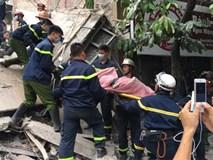 Sập nhà 3 tầng, 2 người chết