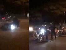 Tài xế gây tai nạn bỏ chạy, ép ngã xe cảnh sát cơ động