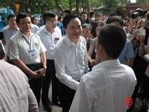 Bộ trưởng Phùng Xuân Nhạ đề nghị trường tốp trên công bố lại điểm sàn