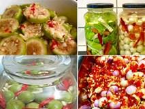 Đưa cơm ngon miệng với những món chua chua, cay cay kích thích vị giác