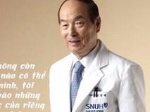 Bị ung thư gan giai đoạn cuối, vị GS sống khỏe nhờ bí quyết 3 chữ