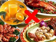 Những thực phẩm kết hợp với nhau 'độc như nọc rắn' chị em nên biết