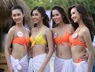 'Mướt mắt' ngắm nhìn các người đẹp Hoa hậu Việt Nam trong trang phục bikini