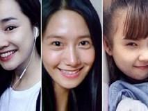 Loạt mỹ nhân Hàn bằng tuổi phải khóc thét khi nhìn thấy mặt mộc của Nhã Phương