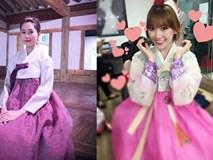 Sao Việt đua nhau mặc Hanbok ai đẹp hơn ai