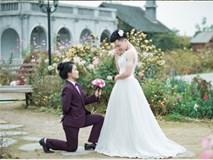 Phát điên vì vợ bắt mặc áo cô dâu chụp ảnh cưới