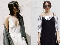 Mấy ngày mát trời, hãy thử những cách kết hợp này với váy slip dress
