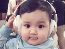 Hình ảnh siêu đáng yêu của con trai Khánh Thi - Phan Hiển