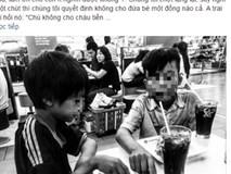 Hai bé ăn xin gầy gò và hành động không ngờ của thực khách ở quán gà