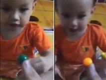 Ông bố kiên nhẫn dạy con bài học về màu sắc và kết quả khiến ai cũng phải cười
