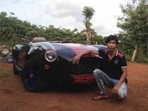Thanh niên Đắk Nông tự chế xe thể thao