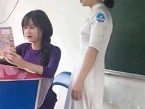 Cô giáo xinh đẹp khiến ai cũng muốn đi học