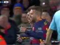 Messi được trao giải Bàn thắng đẹp nhất mùa giải