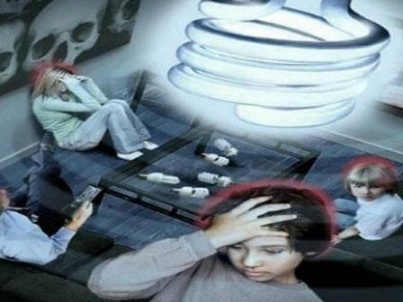 90% người không hề biết bóng đèn tiết kiệm điện có thể gây ung thư