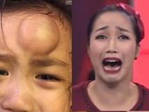Ốc Thanh Vân sợ hãi khi con gái bị ngã đau và bài học cảnh tỉnh các mẹ Việt có con nhỏ
