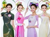 Những hình ảnh diện áo dài chung kết nóng hổi của top 30 Hoa hậu VN