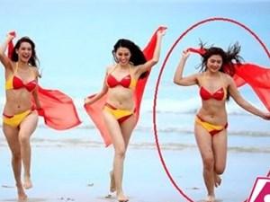 Sự thay đổi gây sốc của Chúng Huyền Thanh khi mặc bikini sau một năm
