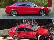 Giận con gái lén hẹn bạn trai trong xe ô tô, bố dùng xe xúc đất phá nát chiếc Audi đắt tiền