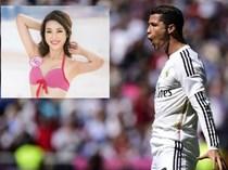 Tân Hoa hậu Việt Nam mê Ronaldo, chỉ theo dõi M.U, Real