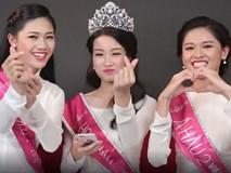 Clip: Hoa hậu Đỗ Mỹ Linh và 2 Á hậu Thanh Tú - Thùy Dung, ai nói tiếng Anh hay hơn?