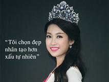 """Những phát ngôn """"giật tanh tách"""" của Hoa hậu Đỗ Mỹ Linh"""