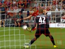 Alonso vuốt bóng đẳng cấp đẹp nhất vòng 1 Bundesliga