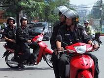 Từ 2.9, cảnh sát cơ động HN không được dừng xe vi phạm mũ bảo hiểm