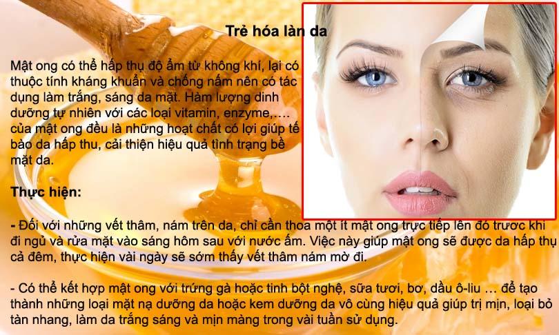 """Cách thức cực đơn giản mà """"thần thánh"""" giúp bạn trẻ khỏe với mật ong"""