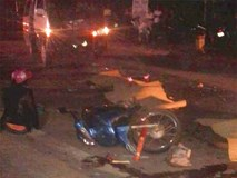 Xe máy kẹp 3 đối đầu xe khách, 3 thanh niên cùng chết thảm