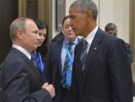 Ánh mắt 'hình viên đạn' Obama dành cho Putin