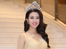 Hoa hậu Mỹ Linh đẹp như nữ thần, liên tục chạy show sau đăng quang