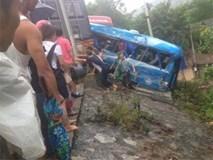 Nguyên nhân vụ tai nạn xe khách lao xuống dốc 6 người thương vong