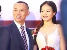 Cận cảnh hôn lễ cực kỳ đặc biệt của Chí Anh và vợ