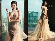 """Chiếc váy khiến các sao Việt như """"lột xác"""" thành nữ thần"""