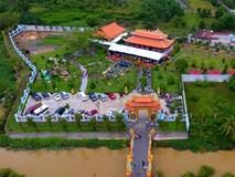 Toàn cảnh nhà thờ Tổ của Hoài Linh ở Sài Gòn