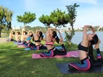 Ngắm bộ ảnh tập yoga tại Đà Lạt đẹp đến mê hồn